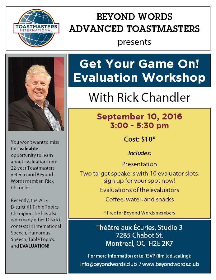 Beyond Words Evaluation Workshop_Poster